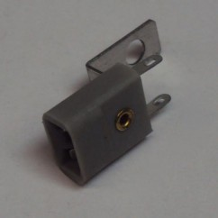 lamp socket with bracket