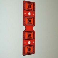 CAPCOM PLFD PLASTIC RD1 10-75 TICKETS.