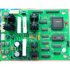 Dot matrix controller assembly