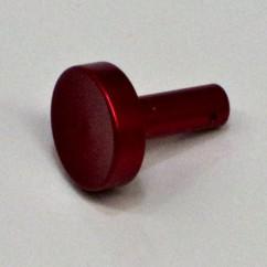 GOTTLIEB RED METAL FLIPPER BUTTON A3562A