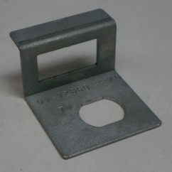 cam lock metal bracket