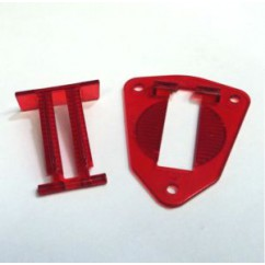 GOTTLIEB Hole Base Plate and Hole Switch Arm - RED