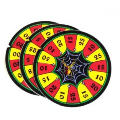 decal -  spin wheel sticker Addams Family Values