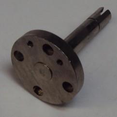 TERMINATOR 2 gun shaft disc assembly