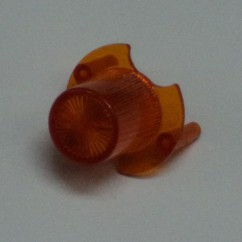 cap jet bumper amber / orange
