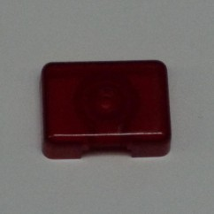 Target Face Rectangle transparent Red