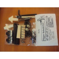 COMPLETE FLIPPER REBUILD KIT FOR BALLY PINBALLS- EARLY?? THRU FLICKER (12/74)