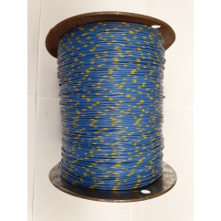Wire 22 g  Blue and Yellow