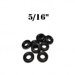 """5/16""""  Black Bumper Post Rings Premium"""
