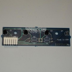 CAPCOM ASSEMBLY PCB OPTO FOUR 3-POS RX