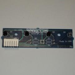 CAPCOM ASSEMBLY PCB OPTO FOUR 3-POS RX