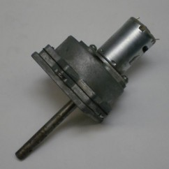 motor and gearbox