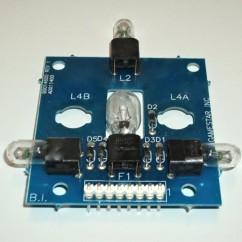 CAPCOM PCB LAMP ASSEMBLY