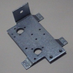 bracket-left flipper mounting