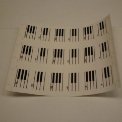 GUNS N ROSES  piano decal set