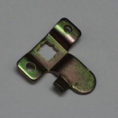 coin door locking cam