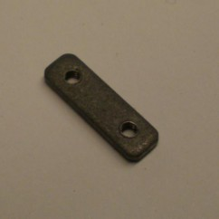 Nut Plate for Microswitch - #2-56