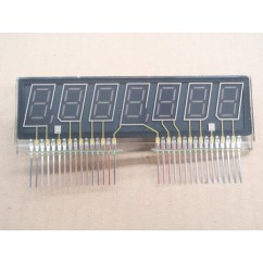 7 digit numeric display glass