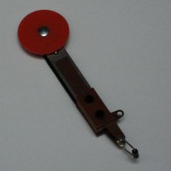 target switch round no mounting red