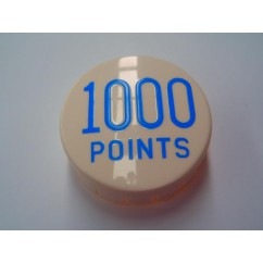 GOTTLIEB POP BUMPER CAP 1000 POINTS BLUE A-14938B