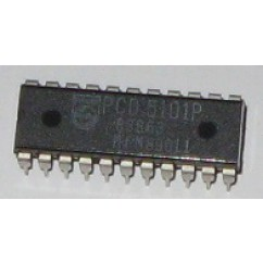 22 Pin  C.M.O.S RAM IC 5101