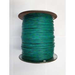 Wire 18 g Green and Blue