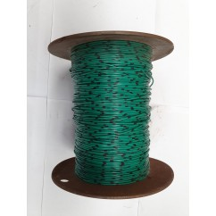 Wire 22 g  Green and Black