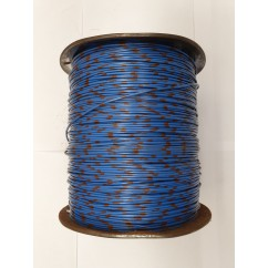Wire 22 g  Blue and Brown