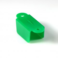 1-1/2 Hole 2 Hole Opaque Double Sided- Green