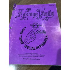 The Addams Family Manual USED