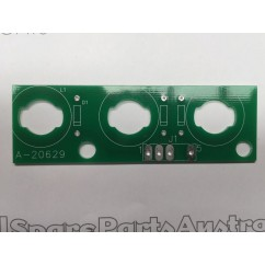 3 lamp pcb assembly A-20629