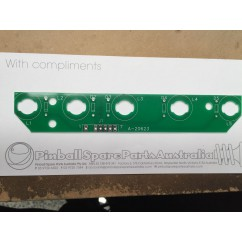 5 lamp pcb assembly lamp board A-20623