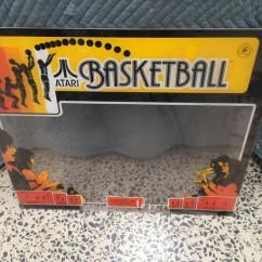 Atari Basketball perspex