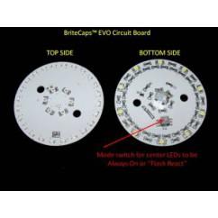 BriteCaps EVO Pop Bumper Lightingcool white no cap
