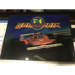 Bell Games Grand Prix Backglass