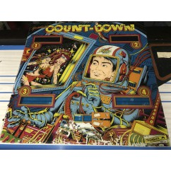 Gottlieb Countdown Backglass
