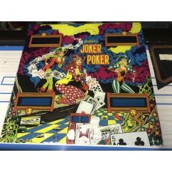 Gottlieb Joker Poker Backglass #1