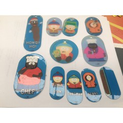 South Park  Plastics and stickers