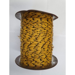 Wire 22 g  Yellow and Black