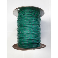 Wire 22 g  Green and Purple