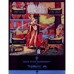 Cleopatra (Gottlieb1977) Rubber Kit TRANSLUCENT