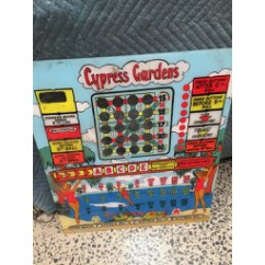 Cypress Gardens gaming backglass