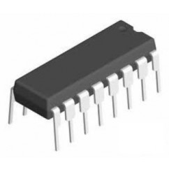 IC - 16 PIN DIP CD4543 BCD TO 7-SEG.