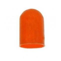 Silicone Bulb Cap condom ORANGE