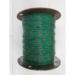Wire 22 g  Green and Yellow