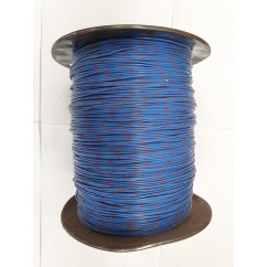 Wire 22 g  Blue and Gray