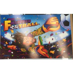 Capcom Flipper Football pinball machine New NOS Translite