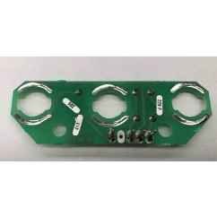 3 lamp pcb assembly used