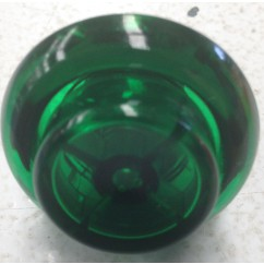 cabinet flipper button transparent green