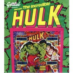 The Incredible Hulk White rubber kit